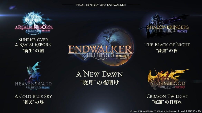 Final Fantasy XIV: Endwalker's update inforamtion